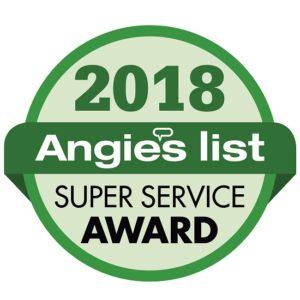 Angie's List 2018 Super Service Award